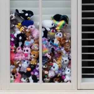 Window in Nelson Street Sandringham 12 April 2020