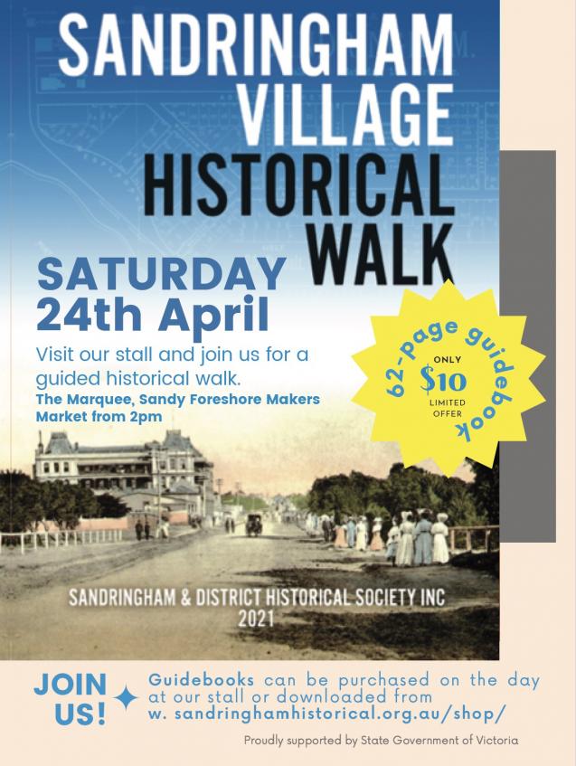 Poster Sandringham Village Walk